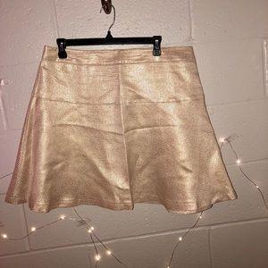 White and Gold Skirt
